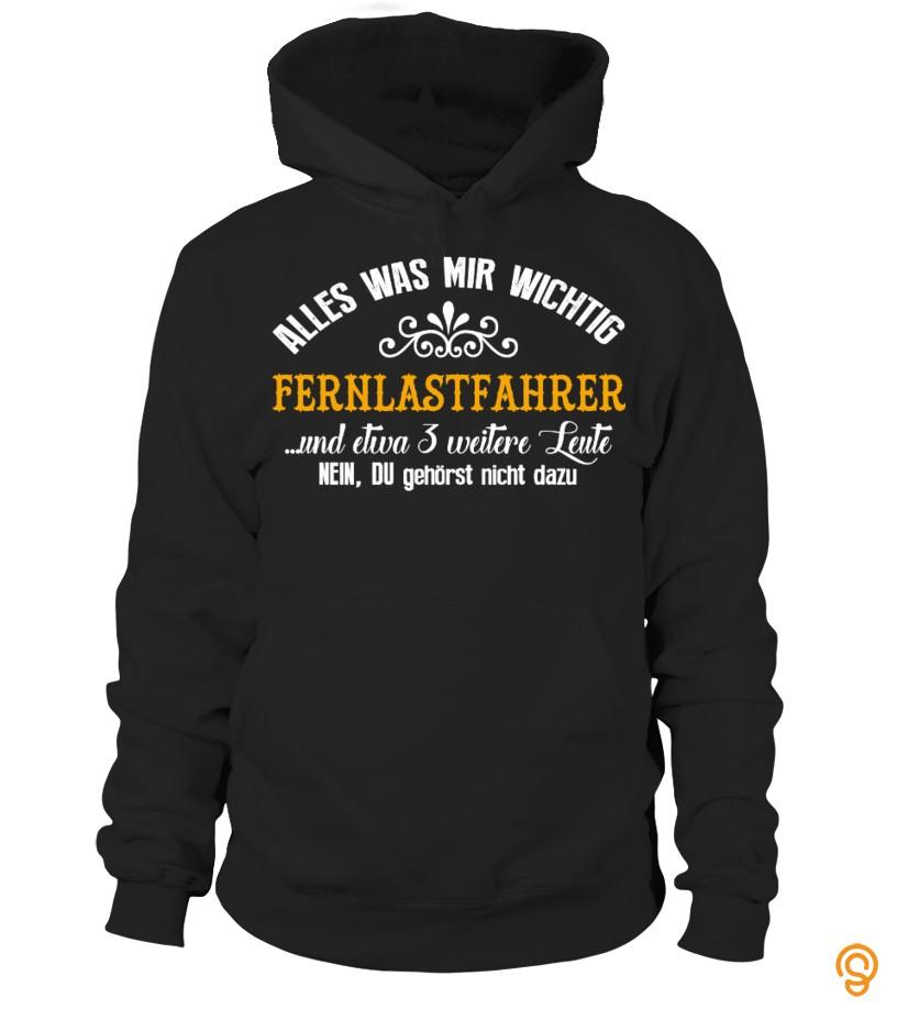 Fernlastfahrer (Trucker) T Shirt