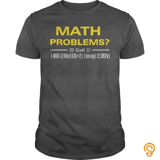 Dependable Math Problems T Shirts Target