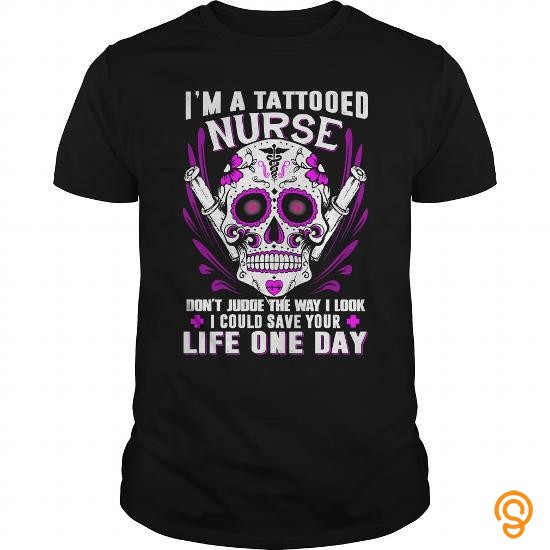 finely-detailed-dont-judge-a-tattooed-nurse-t-shirts-for-sale