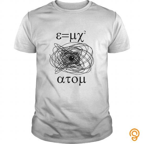 Glamorous E=MC2 ATOM Tee Shirts Apparel
