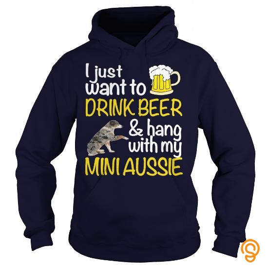 sports-wear-drink-beer-with-my-mini-aussie-t-shirts-for-sale