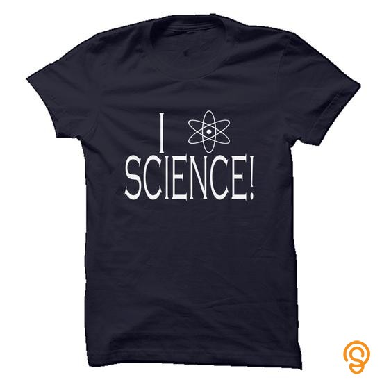 casual-i-love-science-tee-shirts-apparel