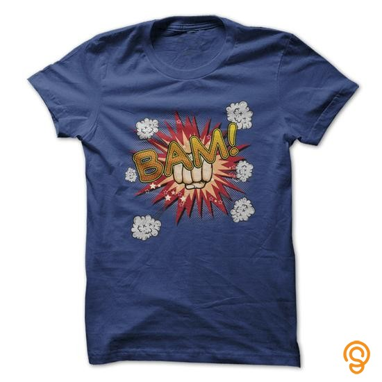fashionable-comic-book-punch-bam-t-shirt-tee-shirts-for-adults