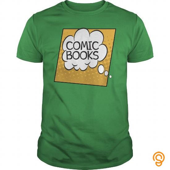 Form-fitting Comic Books Thought Bubble T Shirt Tee Shirts Sayings Men