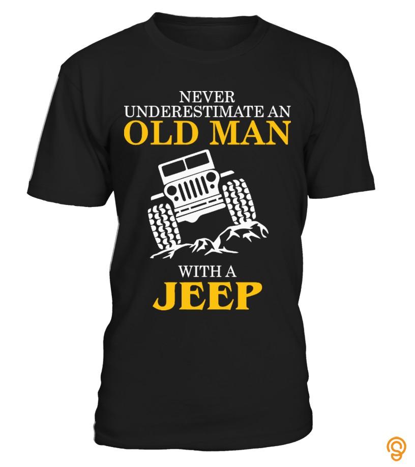 Sports Wear Jeep Tee Shirts Size Xxl