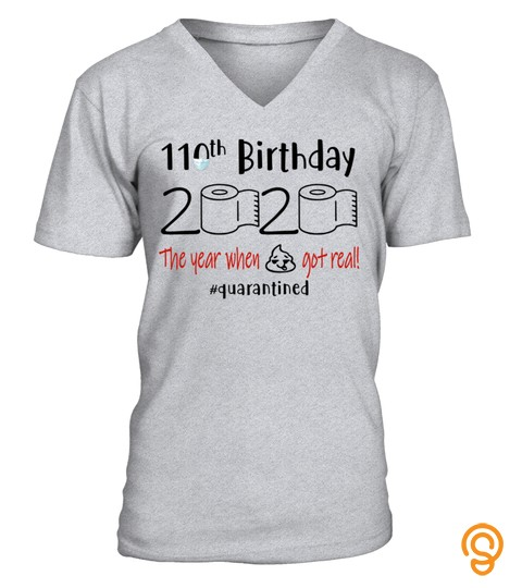 110Th Birthday 1910   Toilet Paper Quanrantined