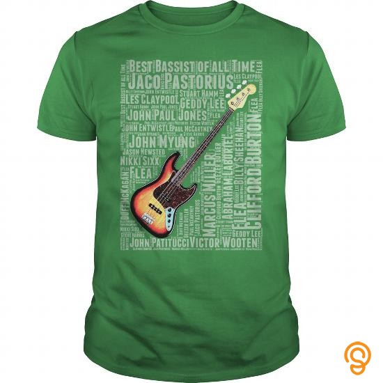 Silky Soft BEST BASSIST OF ALL TIME T Shirts Apparel