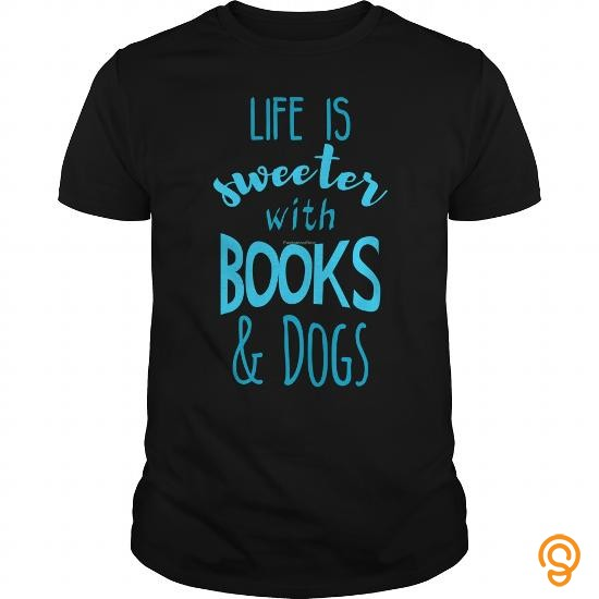 trendsetting-life-is-sweeter-with-books-and-dogs-t-shirt-t-shirts-size-xxl