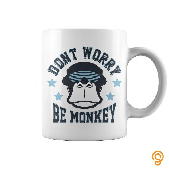 Attire Be Monkey Mug Tee Shirts Sale