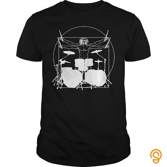Perfect Da Vinci Drummer Tee Tee Shirts Sayings Men