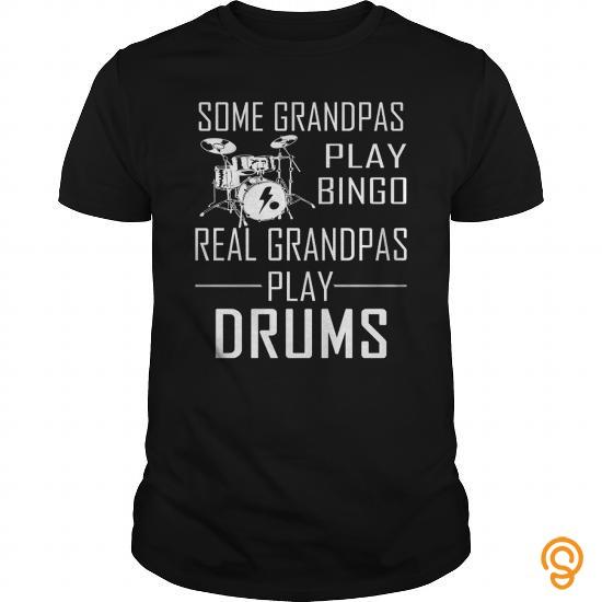 Extra Sizes Drums  Play Bingo Shirt  Tee Shirts Gift