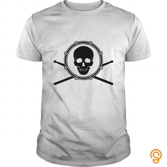 Design SKULL DRUM Tee Shirts Printing