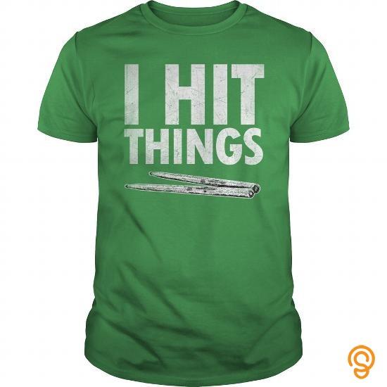 Plush I HIT THINGS Tee Shirts Design