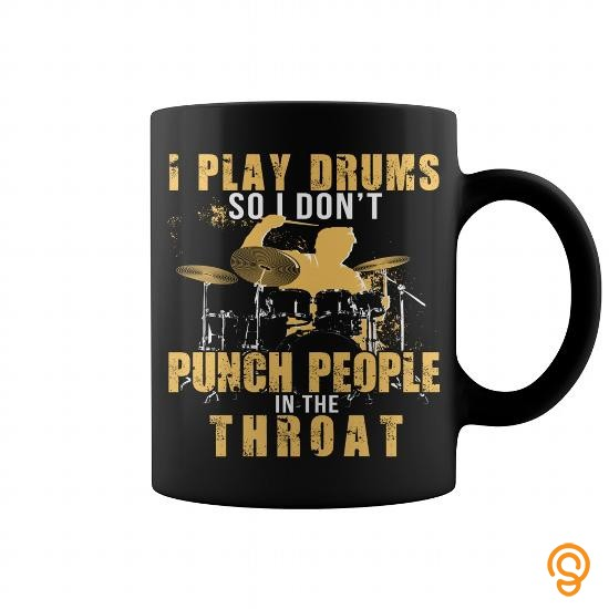 Full-priced I play drums so i dont punch people Tee Shirts Gift