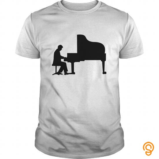 Plush Piano Old Man Shirt T Shirts Clothing Company