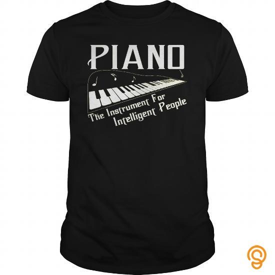 Printed Piano T Shirts Sayings