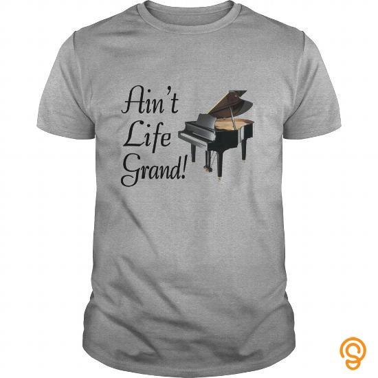 Standard Aint Life Grand Piano Shirt T Shirts Clothing Brand