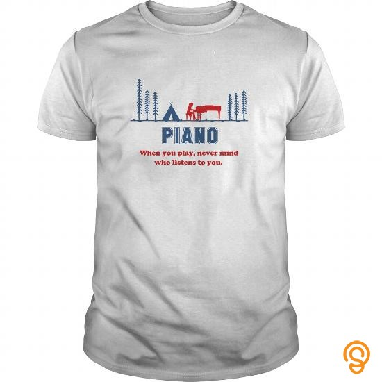 Custom Listen Piano Tee Shirts Material