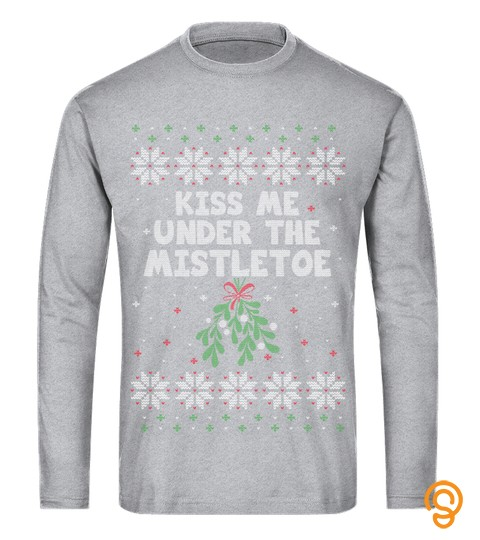 Funny Christmas Tree Lights Decorations Ugly Party Sweatshirt