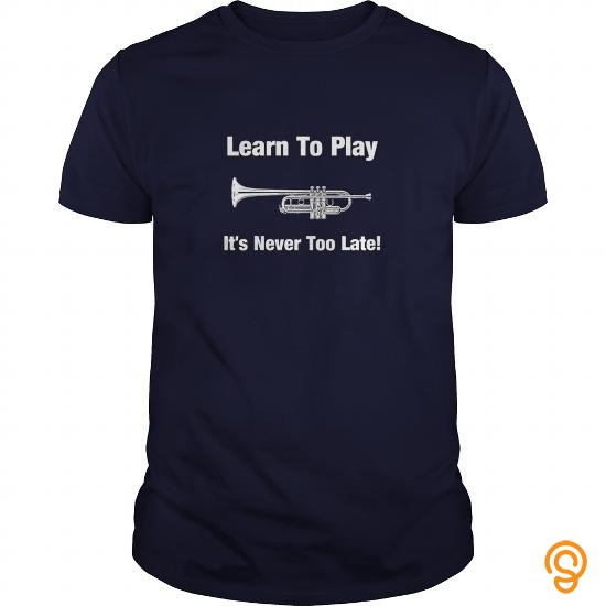 standard-fit-learn-to-play-trumpet-t-shirts-for-sale
