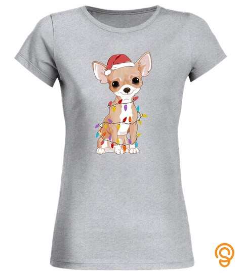 Chihuahua Dogs Tree Christmas Sweater Xmas Gifts