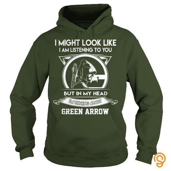 Glamorous Im thinking about Green Arrow T Shirts Printing