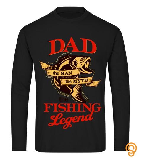 Dad   Man  Myth   The Fishing Legend