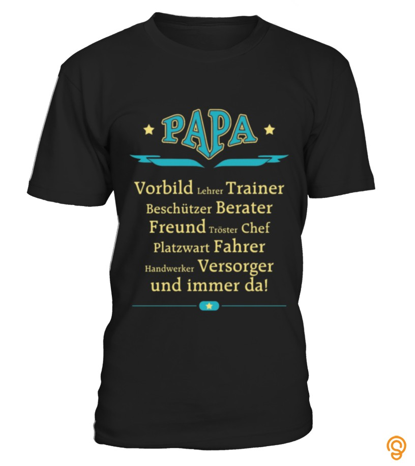 Exciting VATERTAG 2017 LIEBE PAPA1 T Shirts Sayings And Quotes