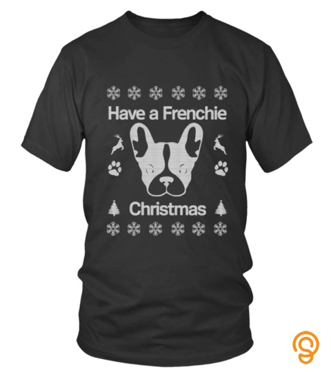 Have A Frenchie Christmas Sweater