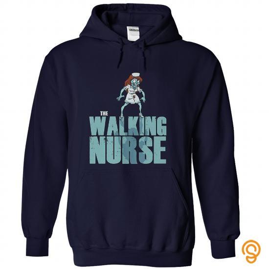 Trendsetter The Walking Nurse Parody T Shirts Sayings