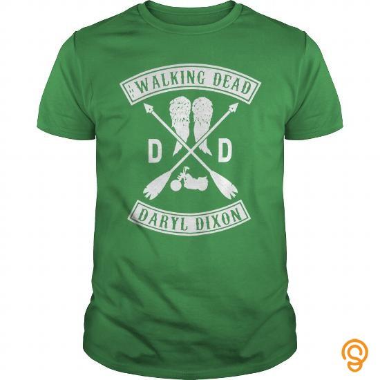 Decorative TWD Daryl DD Racer Tank Juniors Tee Shirts Sale