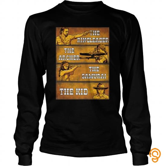 Modern twd fans   The Ringleader, The Archer... Tee Shirts Quotes