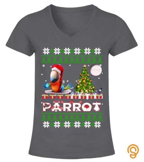 Parrot Ugly Christmas Sweatshirt
