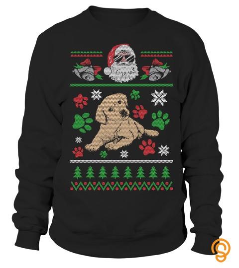 Ugly Christmas Sweater Labrador