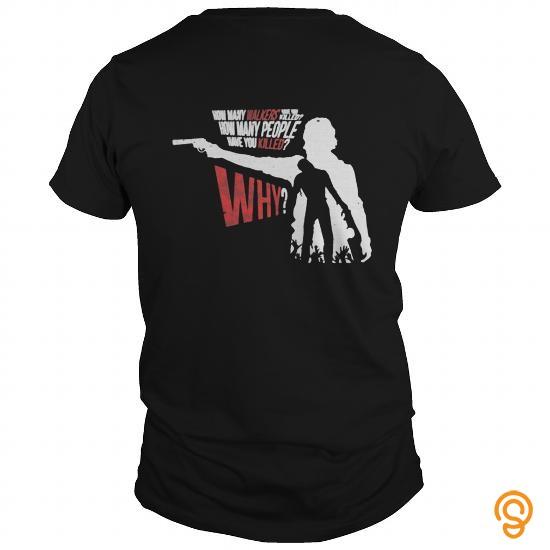 Fabric GRIMES TWD T Shirts Saying Ideas