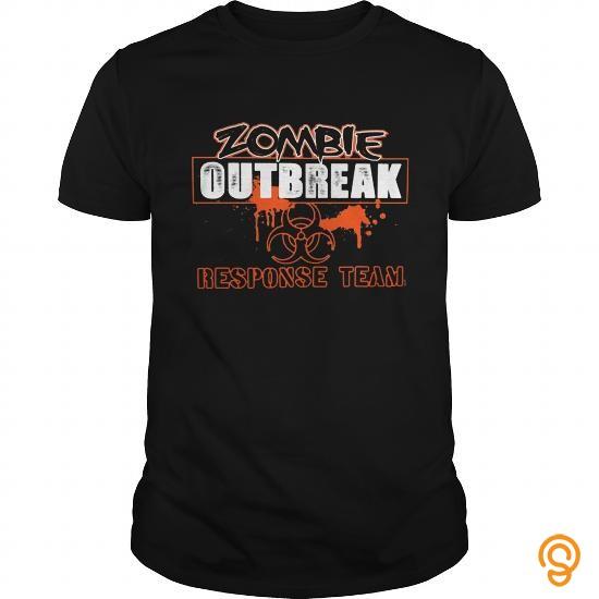 Fabulous Zombie Response Team Girls T Shirts Apparel