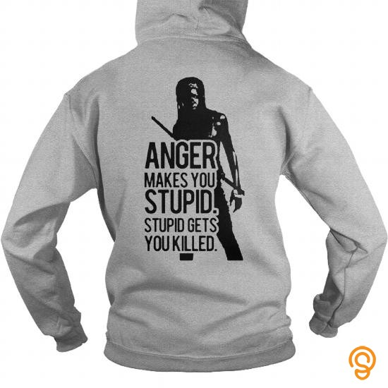 in-style-anger-makes-tou-stupid-twd-tee-shirts-wholesale