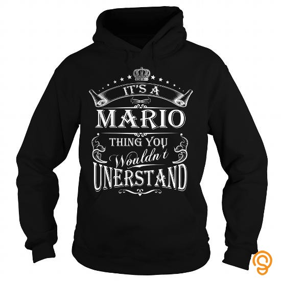 Perfect MARIO It's a MARIO thing you wouldn't understand Tee Shirts Gift