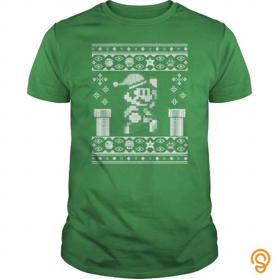 Innovation Christmas Super Mario T Shirts Buy Online
