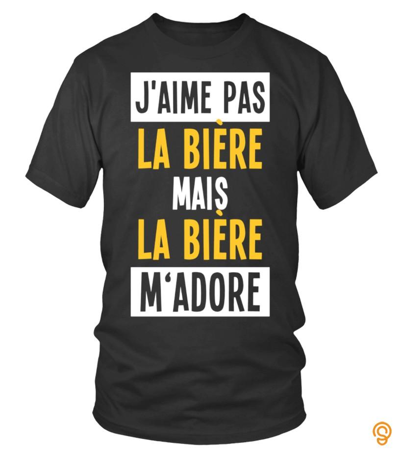 exotic-jmaime-pas-la-biere-t-shirts-for-sale